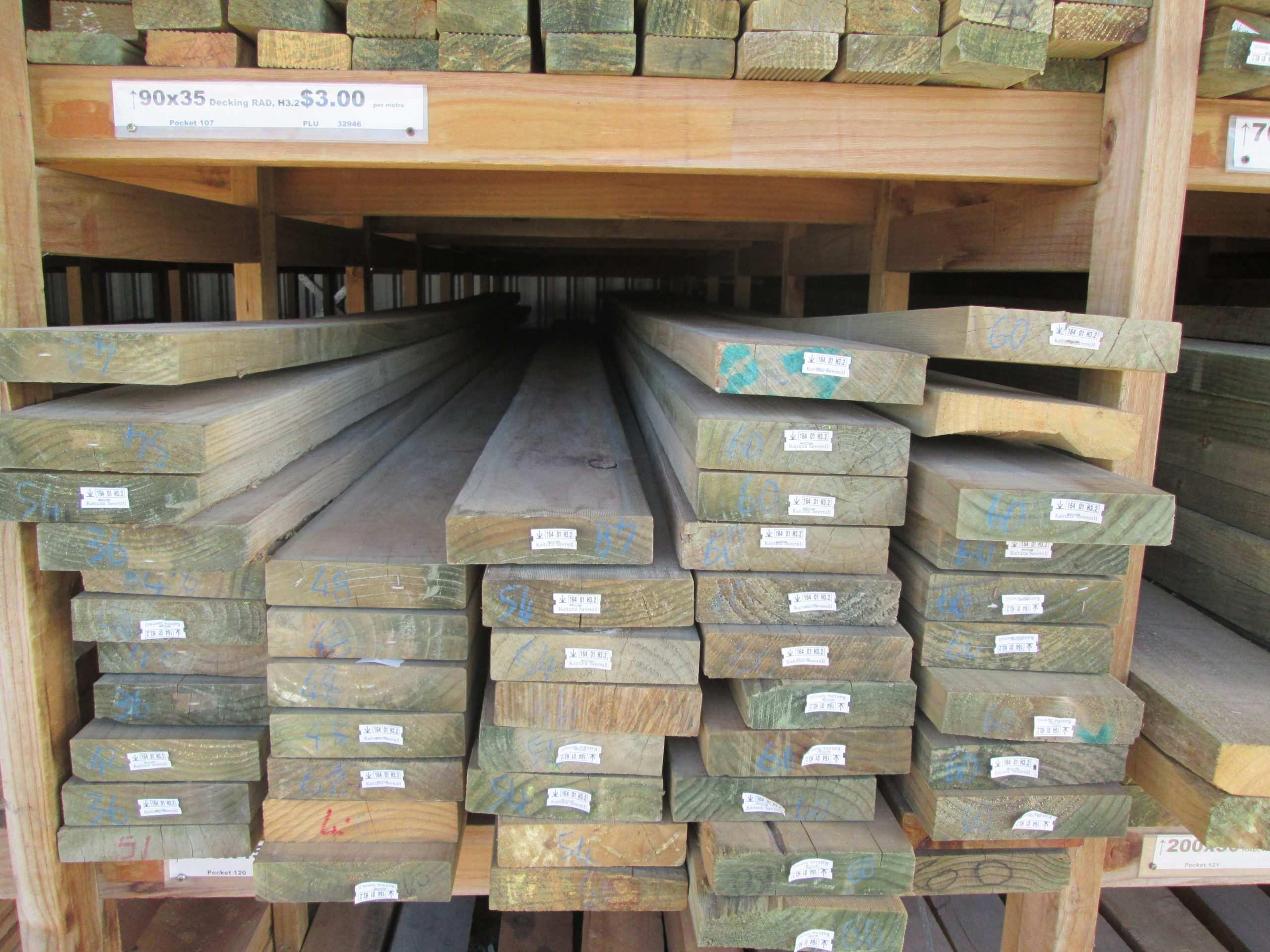 Rough Sawn H3 2 Treated Pine 200 X 50mm Musgroves Ltd
