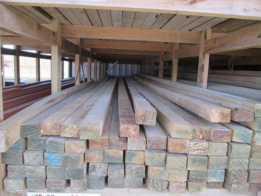 Rough Sawn H3 2 Treated Pine 75 X 50 Mm Musgroves Ltd