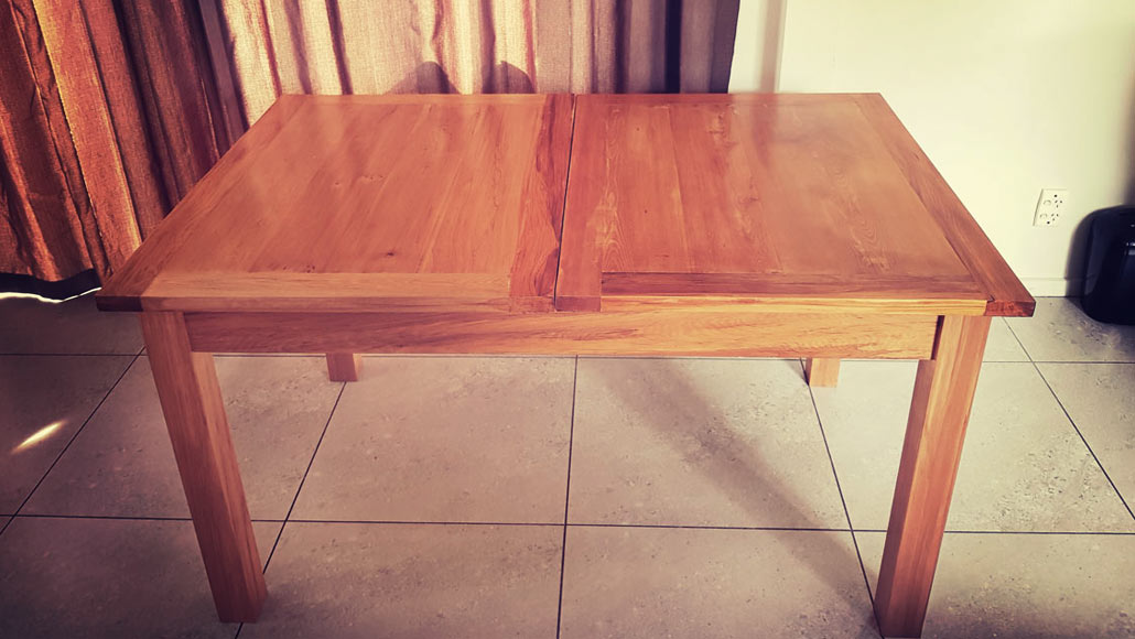 Recycled Extendable Dining Table