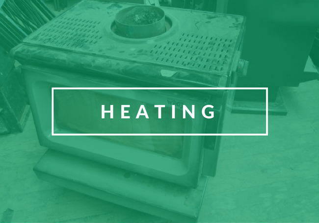 Reclaimed Heating Materials