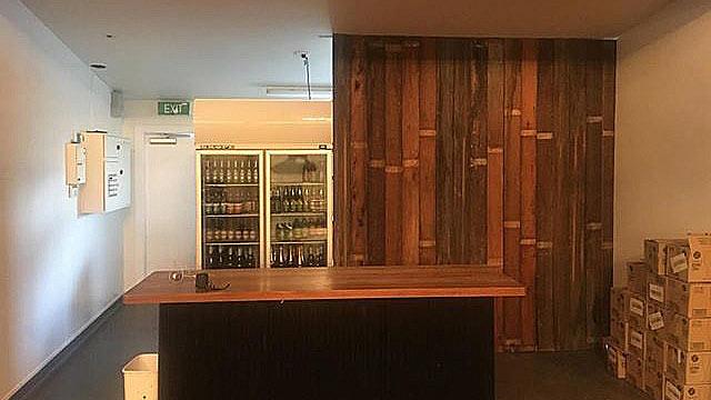 Tom's Bar Rebuild
