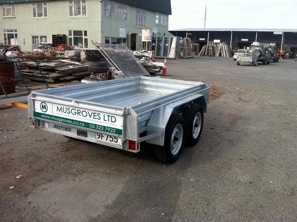 Musgroves courtesy trailer rear
