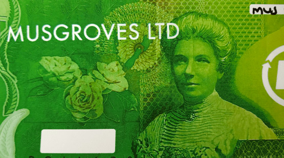 Gift Vouchers at Musgroves