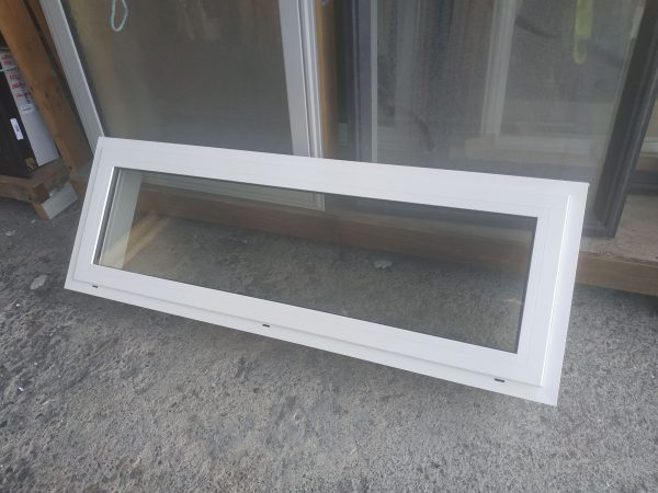 White Double Glazed Aluminium Opening Window 69014