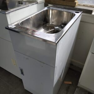 83204 Laundry Tub with Cabinet Unused