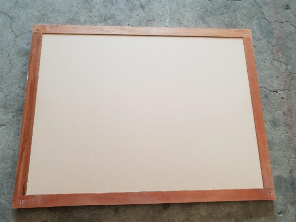 Rimu Pin Board backside 90441