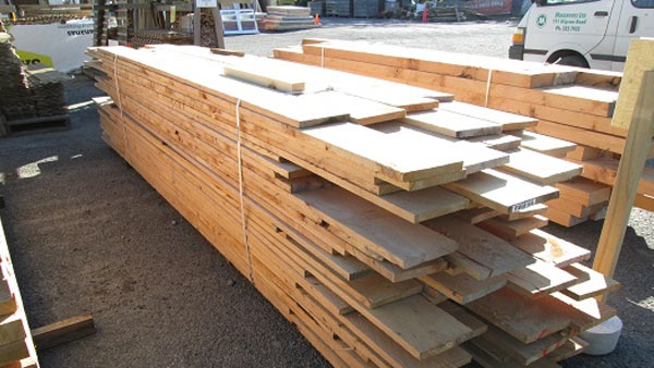 200×25 Macrocarpa timber arriving soon