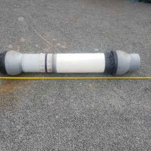 90550 Pipe Joiner side view with tape