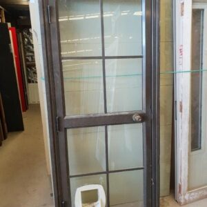 90844 Brown Aluminium Door ext