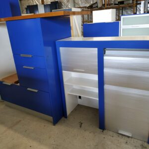 89839 Blue Kitchen Cabinetry