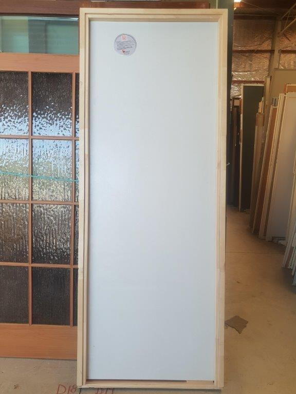 91235 Tall Solid Core Door interior