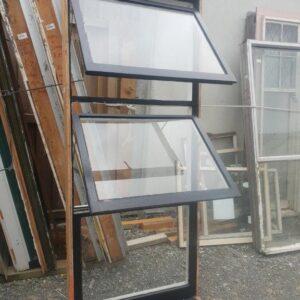 91237 Wooden Black window ext opened