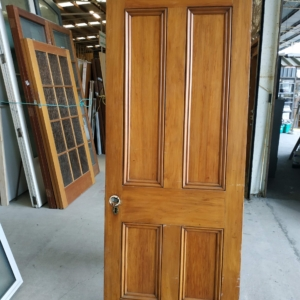 Internal Rimu 4 Panel Door