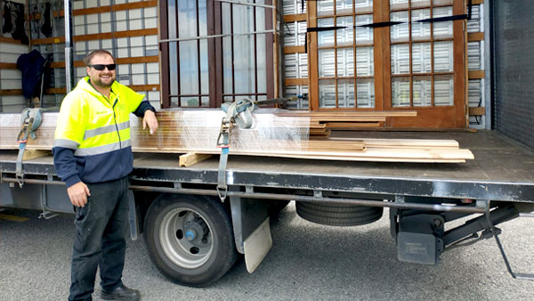 A big shout out to Akaroa Freight