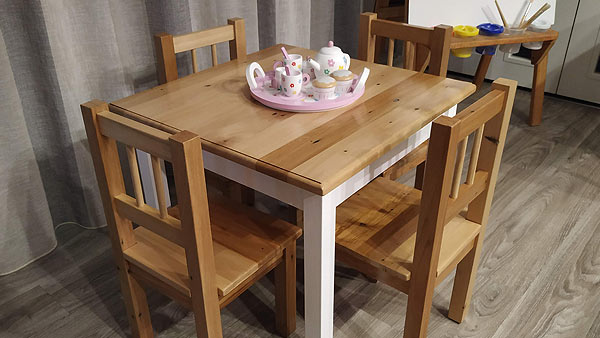 Matthew's Table & Chairs for kids