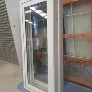90859 New White DG Alloy Door Inward Opening group photo B
