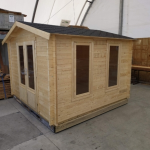 Wooden Shed or Cabin (Assembled)
