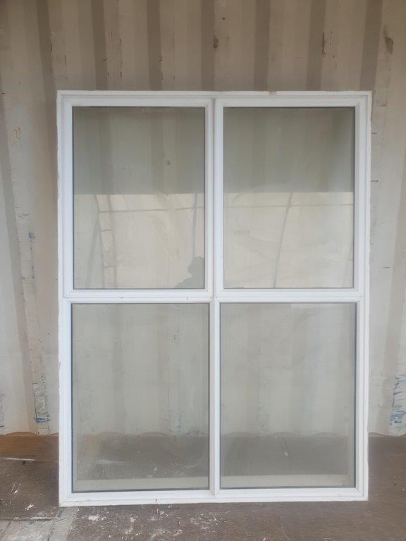 91866 White alloy window ext