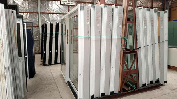 New Aluminium Joinery back in stock