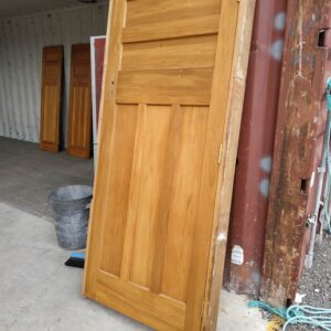 92120 Internal Rimu Door Framed