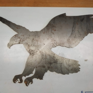 Eagle Corten Garden Ornament