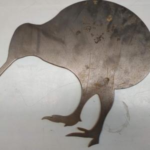 Kiwi Corten Metal Garden Ornament