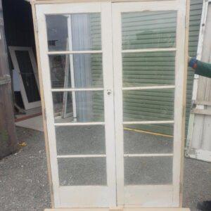 91886 5 Pane French Doors ext