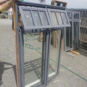 92257 Grey Friars DG Alloy Window ext opened