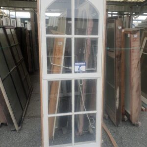 92940 Wooden Colonial Arched Window ext