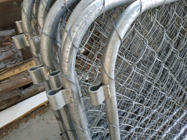 93761 Gate Close Up Chain Link