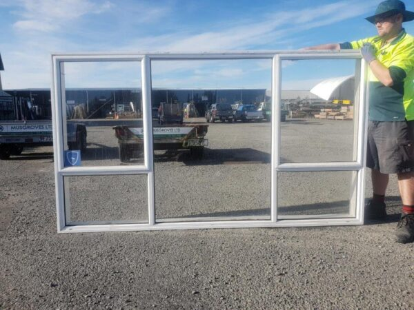93861 White Aluminium Window ext
