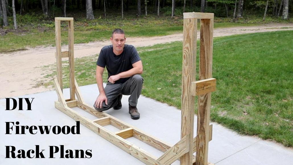 DIY Firewood Storage – Woodwork Projects