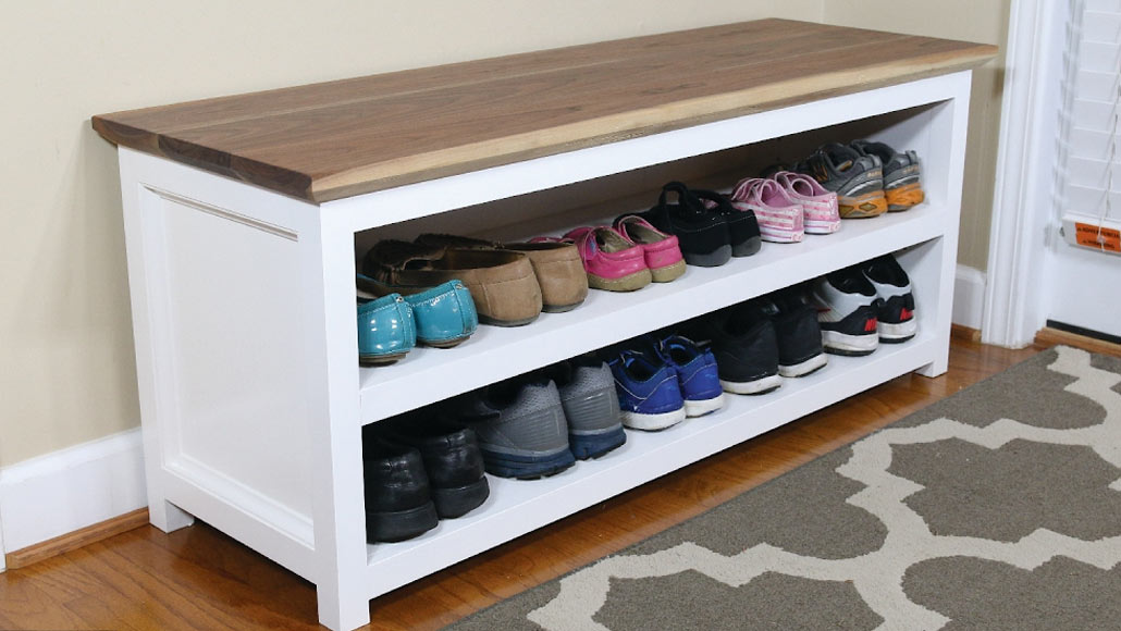 DIY Shoe Storage – Woodwork Projects