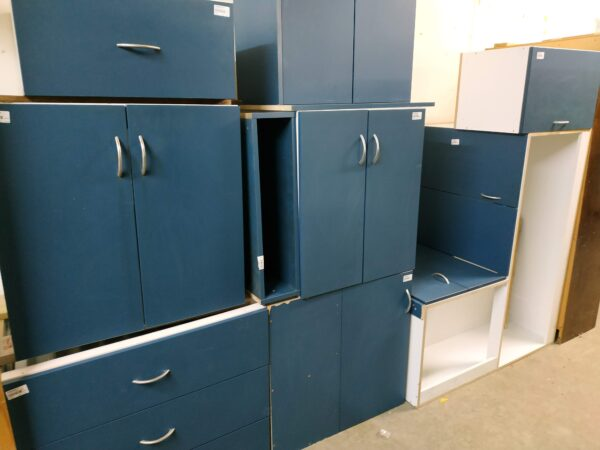 94646-Blue Drawer matching cabinets