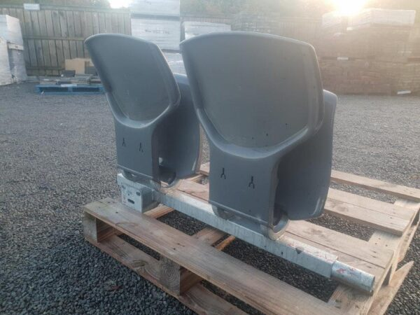 94674 Connected Outdoor Stadium 2 Seater back side