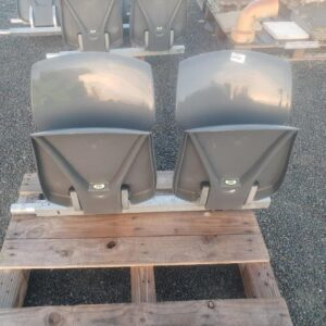 94674 Connected Outdoor Stadium 2 Seater closed front