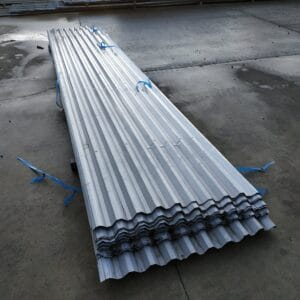 46144-10 Rib Unused Zincalume Iron