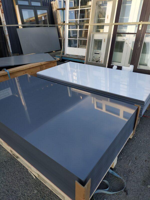93666-ACM Panel Dark Grey & White