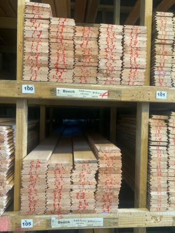 94579-Beech T&G Flooring 128x19mm Pocket